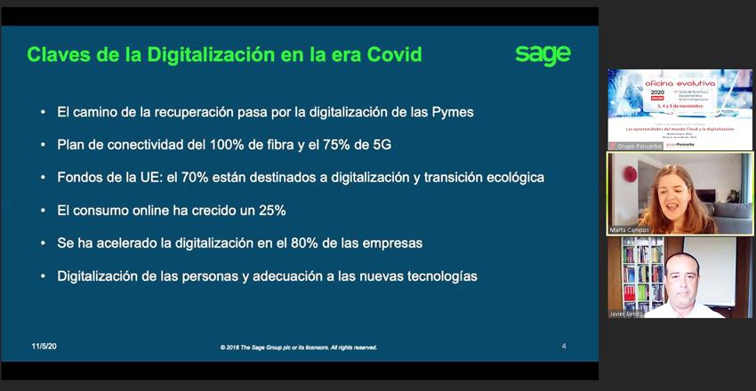 Las oportunidades del mundo Cloud y la digitalización